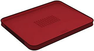 Joseph Joseph 60004 Cut & Carve Multi-Function Cutting Board, Large, Red