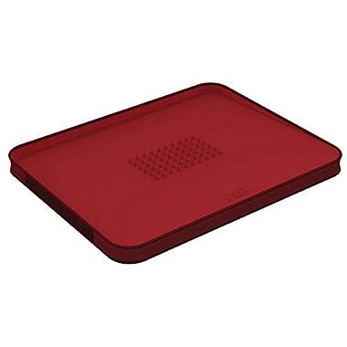 Joseph Joseph 60004 Cut & Carve Multi-Function Cutting Board, Large, Red