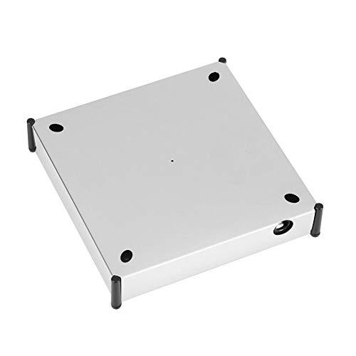 zhuolong Soporte de exhibición Giratorio Vitrina de levitación magnética de 360 Grados Estantes flotantes Mostrar Base de Pantalla Plataforma giratoria con LED(Enchufe de la UE 220 V)