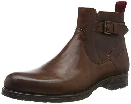 Marc O'Polo Herren 90725005004100 Klassische Stiefel, Braun (Cognac 720), 44 EU