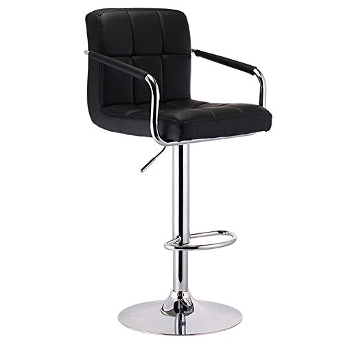 Huifang Sillas de escritorio QFFL jiaozhengyi Wine Bar Chair, Bar Back Bar Stool Elevación y rotaci