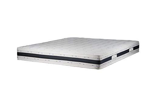 Sleepers COMFOPLUS Matratze aus Memory Foam mit 9 differenzierten Bereichen Orthopädie 22 cm hoch (200 x 200 cm)