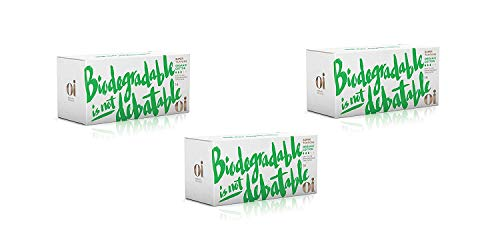 Oi Certified Organic Cotton Tampons | 3 Boxes of 14 Super Tampons | Cardboard Applicator
