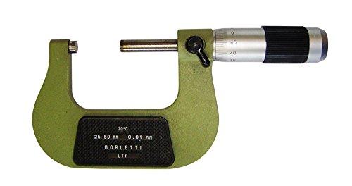 Borletti MELN/2W Micrometro centesimale per Esterni-Campo di Misura 25-50 mm