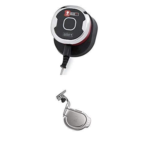 Weber 7220 iGrill mini, Grillthermometer + iGrill Halterung, Metall