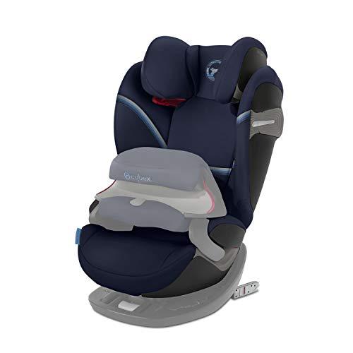CYBEX Gold 2-in-1 Kinder-Autositz Pallas S-Fix, Für Autos mit und ohne ISOFIX, Gruppe 1/2/3 (9-36 kg), Ab ca. 9 Monate bis ca. 12 Jahre, Navy Blue