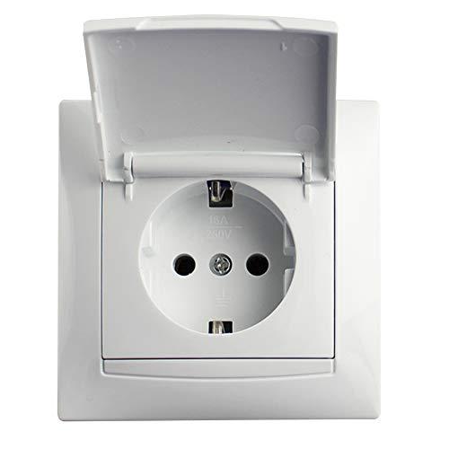 Electro dh 36.540/BP Base Shucko empotrable c/tapa
