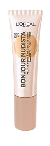 3x L'Oreal Bonjour Nudista BB Cream 04 Medium Dark je 12ml strahlendes Finish