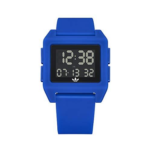adidas Reloj Digital para Unisex Adulto de con Correa en Silicona Z15-3271-00