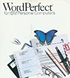 Word Perfect for IBM Personal Computers {Version 5.0} 5 1/4' Diskettes
