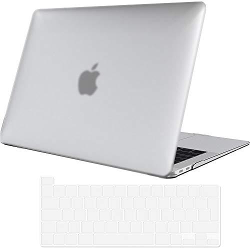 ProCase Hülle für MacBook Pro 13 Zoll 2020 Abdeckung A2289/A2251/A2338 Case Cover,Ultraflaches,durchscheinendes,Gummibeschichtetes Hardcover Gehäuse –MatteKlar