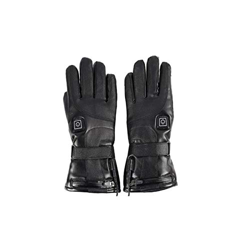ZSEFV Heated Gloves Motorcycle Electric Heated...