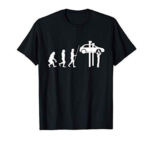 Werkstatt Mechaniker Werkzeuge Diesel Wagenheber Geschenk T-Shirt