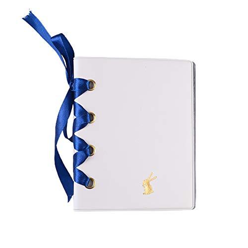 Supefriendly Álbum de fotos, álbum de recortes, diseño de conejo, ideal para cumpleaños, día de San Valentín, aniversario, boda, Navidad, 64 bolsillos de 7,6 cm
