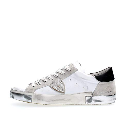 Philippe Model Herren Paris Sneakers Bianco 40 EU