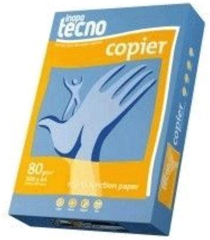 Inapa Kopierpapier tecno copier A4 80g qm weiß VE= 2500 Blatt ungeriest B004MZYF1O  | Die Farbe ist sehr auffällig