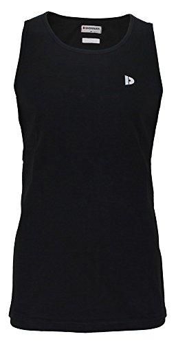 Donnay - Camisa musical para hombre, color negro, talla XL