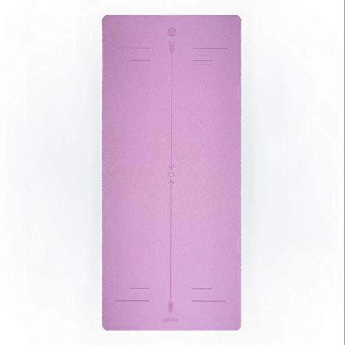 xiaokeai Esterilla Yoga Cojín al Aire Libre del césped Antideslizante de Soporte de Placa Yoga Mat Inicio Yoga de la Aptitud Colchoneta de Ejercicio Esterilla Deporte