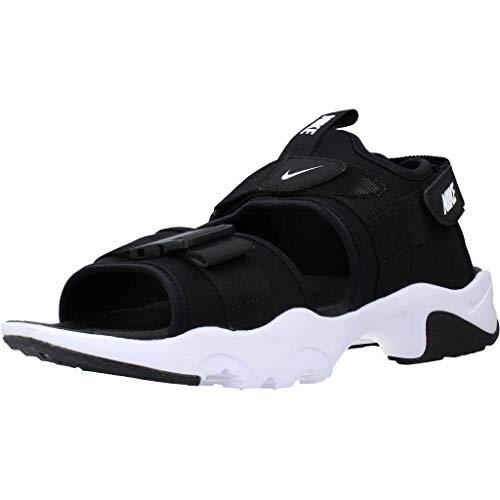 Nike Men's Canyon Sandal White-Black Floaters-8 UK (42.5 EU) (9 US) (CI8797-002)