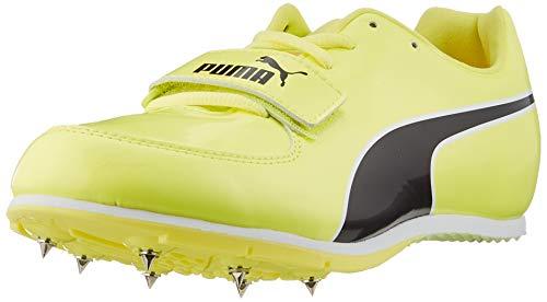 PUMA Evospeed Long Jump 6, Zapatillas de Atletismo Unisex Adulto, Amarillo (Fizzy Yellow Black), 42 EU