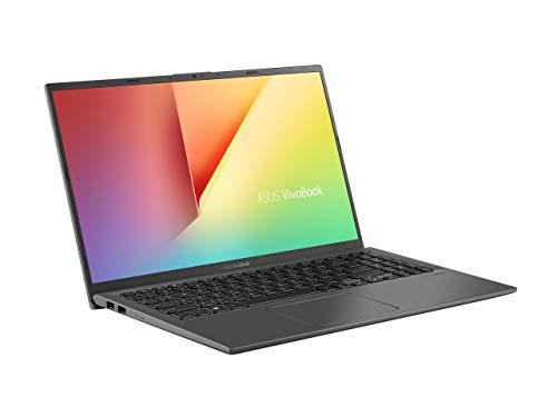 "Newest ASUS VivoBook 15 Laptop 15.6"" FHD 10th Gen Intel Core i3 1005G1 CPU (Up to 3.4GHz) 8GB DDR4 RAM, 256GB SSD, Fingerprint Reader, Windows 10, Slate Gray"