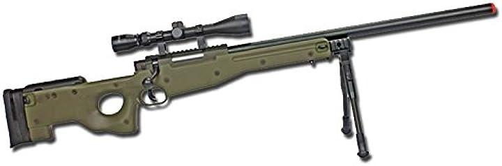 Fucile cecchino softair well fucile a molla mauser sl86 full set od mb01 softair (0.9 joule) B01LDAZBYA