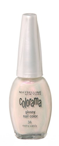 Maybelline New York Nagellack - COLORAMA 34 MERRY CANDY