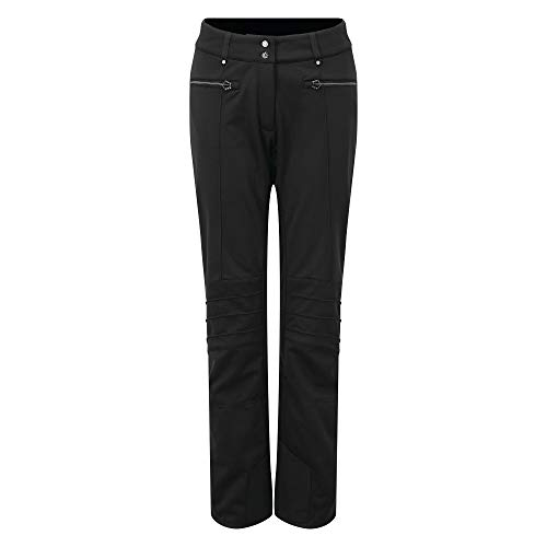 Dare 2B Inspired Pantalon Softshell Imperméable Et Respirant, Pants Donna, Nero, FR : XL (Taille Fabricant : 16)
