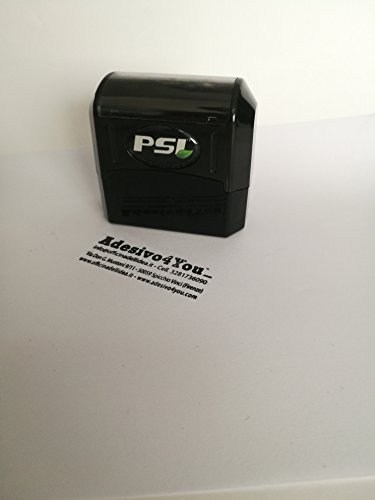 Stempel, voorgeverfd, 14 x 44 mm (personaliseerbaar met uw belettering en logo) sticker 4You