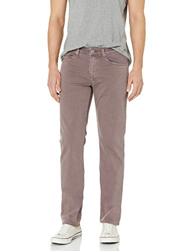 PAIGE Men's Normandie Straight Leg Jean, Vintage Dusty Plum, 34