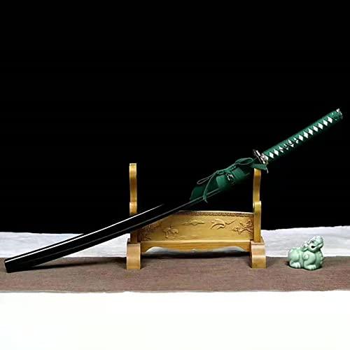 XGMSD Spada Samurai di 102 cm di Lunghezza,con Fodero,Katana in Legno di bambù Naturale,Pratica di Arti Marziali Spade di Legno Iaido Bokken per Cospiay,Performance,Collezione
