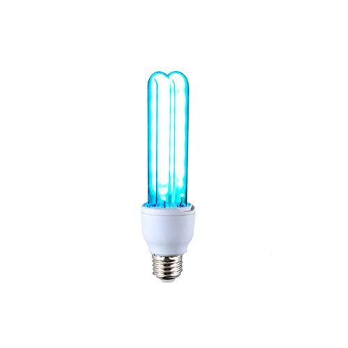 DEVELE Bombilla Desinfectante UV Lámpara Germicida Ultravioleta sin Ozono Lámpara UV de...