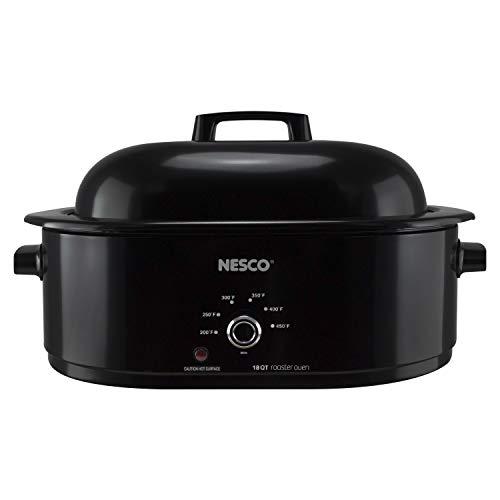 NESCO MWR18-13, Roaster Oven, 18 Quarts, Black
