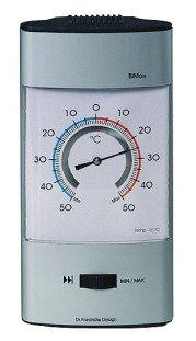 Bimetall Min Max Thermometer Dr. Friedrichs Design aluminium behuizing