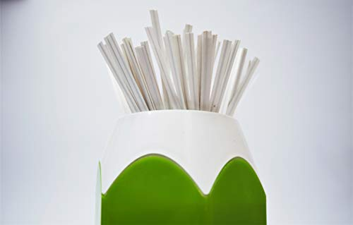 Twies 5 Inch Paper Twist Ties 200 Pcs   Reusable Bread Ties for Party Cello Candy Coffee Treat Bags Cake Pops - White 3 ⭐Economy Pack: Pack of 200 twist ties for bags, ample supply to meet multiple needs. Reusable tie, this one-time purchase will serve you for long ⭐Adequate Length: 5 inches twist tie, long enough to serve the purpose of tying tightly and does not open up at its own ⭐Durable: Made of premium quality paper with inner strong, non-breakable metal wire. Durable for every weather, use twisty ties for indoor and outdoor needs