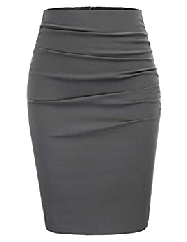 grey skirts for women