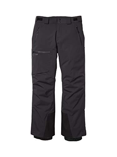 Marmot Refuge Pant Pantaloni da Neve Rigidi, Abbigliamento per Sci E Snowboard, Antivento, Impermeabili, Traspiranti, Uomo, Black, M
