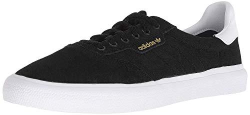 adidas Originals 3MC - Zapatillas de skate, negro (Ante negro/blanco/negro.), 44 EU