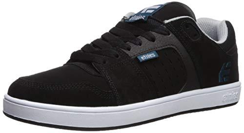 Etnies Men's Rockfield Skate Shoe, Black/Blue/White, 13 Medium US