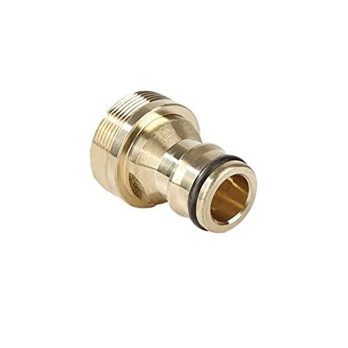 NinNn Universal 23 mm Conector rápido Cocina de latón Puro Grifo del baño Conector de Grifo de la Manguera de jardín Adaptadores de conexión de Agua (Color : 01, Diameter : 23mm)