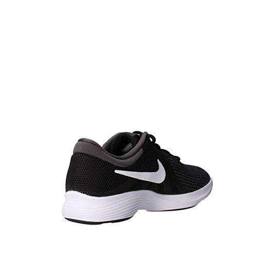 Nike Unisex-Kinder Laufschuh Revolution 4, Schwarz - 4