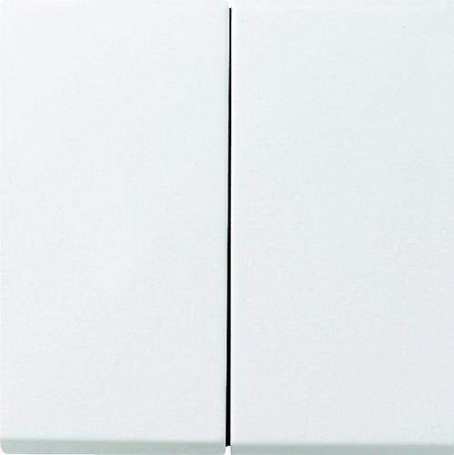 Gira 2315112 Aufsatz Seriendimmer Flächenschalter, reinweiß