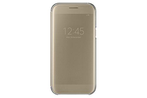 Samsung Clear View Cover für Galaxy A5 (2017) gold