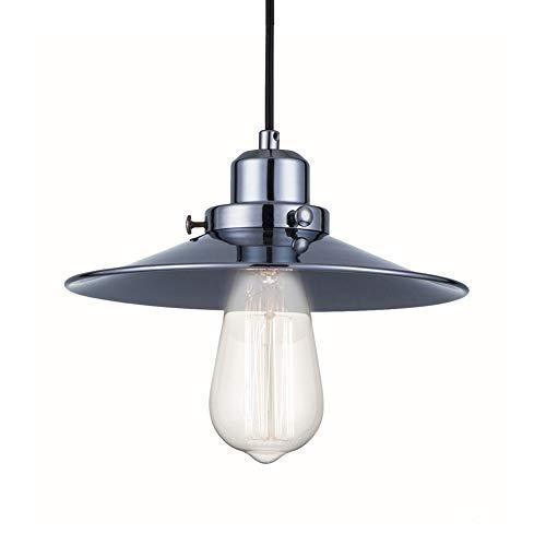 LED Droplight Retro Creative dressoir restaurant met één kop met druppellight, zwart E27