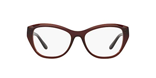 Ralph Lauren 0RL6187 Monturas de gafas, Brown Tabacco Transparente, 40 para Mujer