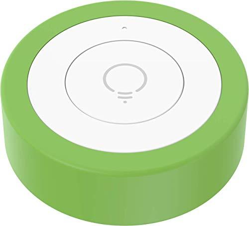 myStrom WiFi Button, Smart Button, 3 Druckmuster, für Smart Home-Geräte von myStrom, Hue und SONOS, unzählige Apps und Dienste via IFTTT