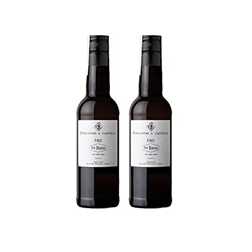 Vino Fino en Rama de 37.5 cl - D.O. Jerez-Sherry - Bodegas Fernando de Castilla (Pack de 2 botellas)