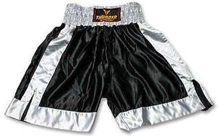 ProForce Thunder Satin Boxing Trunks - schwarz grau Medium Medium Medium B00FAJH27A       Großer Räumungsverkauf  09e072