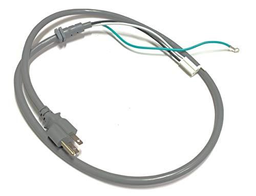OEM LG Microwave Power Cord Cable for LMV1683SB, LMV1683SW, LMHM2237ST, LMH2235ST, LMV2031BD