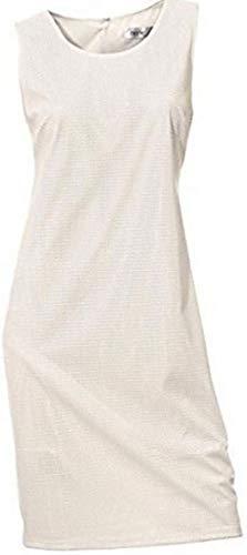 Heine Kleid Etuikleid Weiß Gr. 42